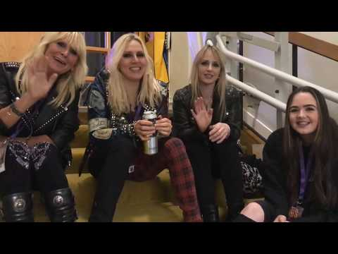 Rock Goddess on Kiss, Led Zep and reforming  - interview WinterStorm