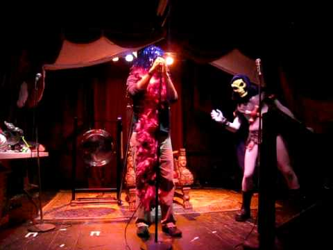 Skeletor Karaoke Gong Show at Trocadero - You Oughta Know by Alanis Morissette