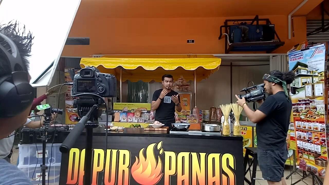 Melawati Kebab Shoting Dapur Panas Di Hdapan Kilang You