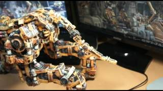 papercraft Zoids-Voltron prototype