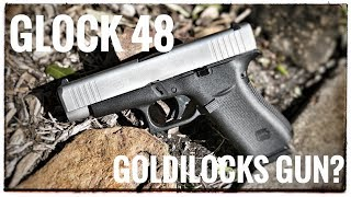 The Glock 48 - Bigger than the rest, and for very good reason.  A Complete review