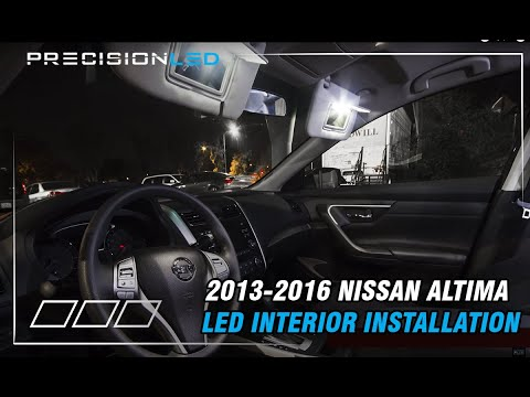 Nissan Altima LED Interior How To Install – 2013-2016