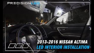 Nissan Altima LED Interior How To Install - 2013-2016