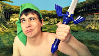 LINK PÈTE UN CÂBLE: Ocarina of Time Chaos Edition
