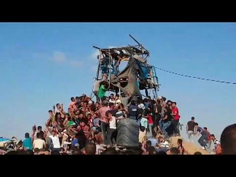 فيديو: 4 قتلى فلسطينيين في اشتباكات مع الجيش الإسرائيلي في غزة…  - نشر قبل 36 دقيقة