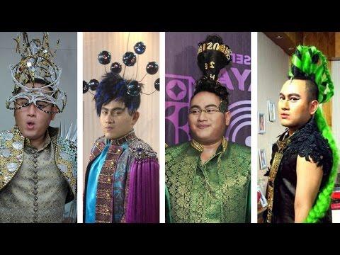 7 Model Rambut Nassar KDI Komentator D'Academy Asia