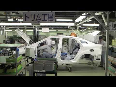 Mirai production line: trim