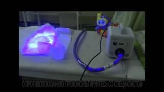 Фотолампа для лечения от желтухи новорожденных в детской клинике