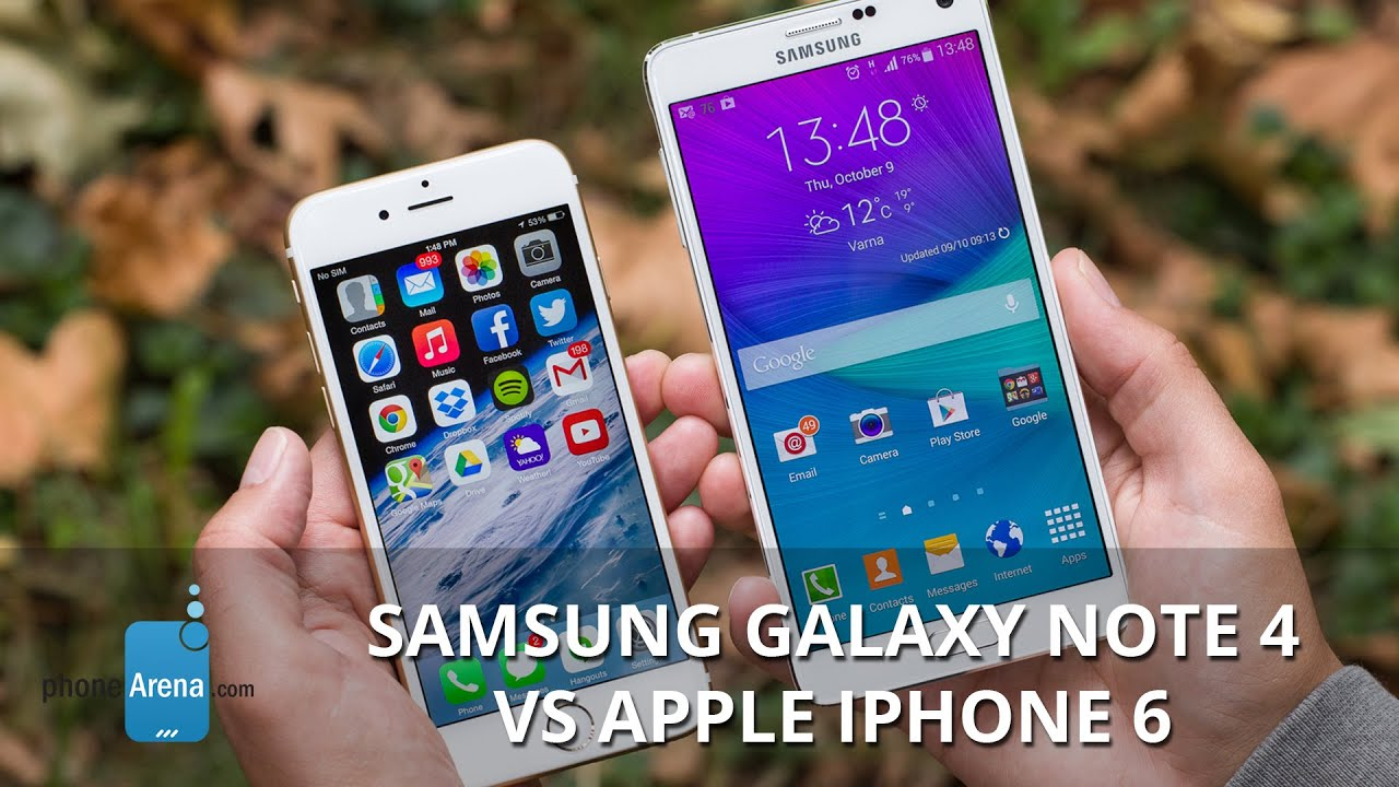 iphone 6 notes samsung galaxy note 4 vs apple iphone 6 funnydog tv 11371