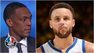 Rajon Rondo wants to see 'the old Steph Curry' with Kevin Durant injured | NBA Countdown