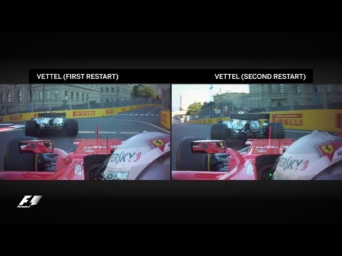 Hamilton And Vettel's Clash Examined | 2017 Azerbaijan Grand Prix