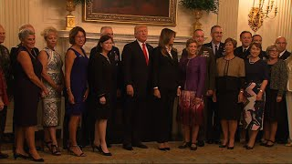 Trump Calls Photo Op `Calm Before The Storm'