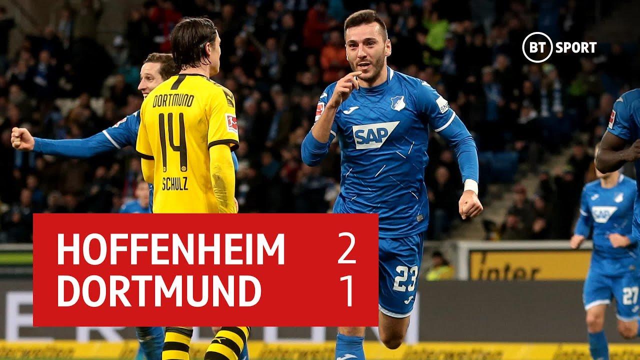 Hoffenheim Dortmund Highlights