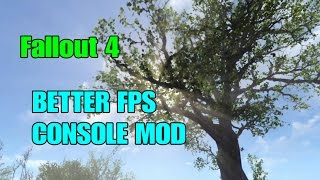 FALLOUT 4- How to IMPROVE FPS With MODS! (PS4/XBOX ONE MODS)