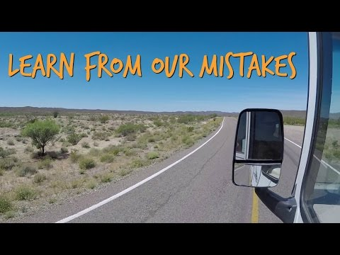 Learn from our RV mistakes ~ Driving too far!
