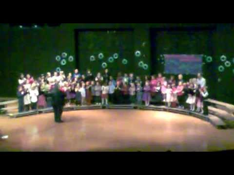 Wexford Montessori Magnet School Winter Singing 2012 Part-3