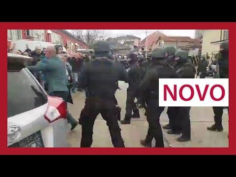 Nasilje u Kosovskoj Mitrovici - NOVO ( Uhapšen Djuric )