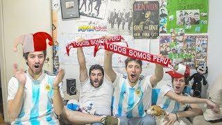 Perú vs Nueva Zelanda | Repechaje Mundial 2018 | Reacciones ARGENTINOS