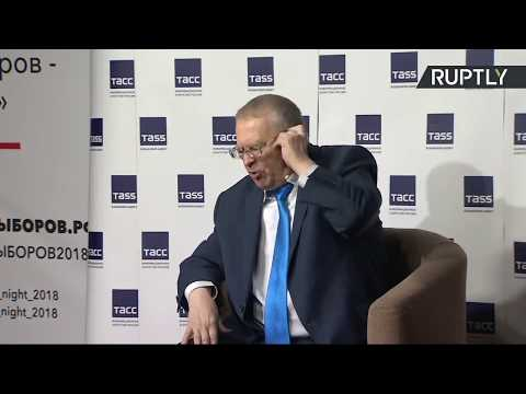 Пресс-конференция Владимира Жириновского