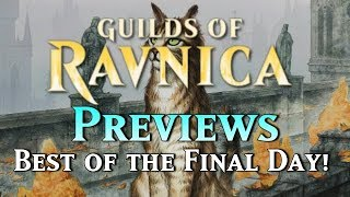 Mtg Guilds of Ravnica Previews - Best Cards from the Final Day!