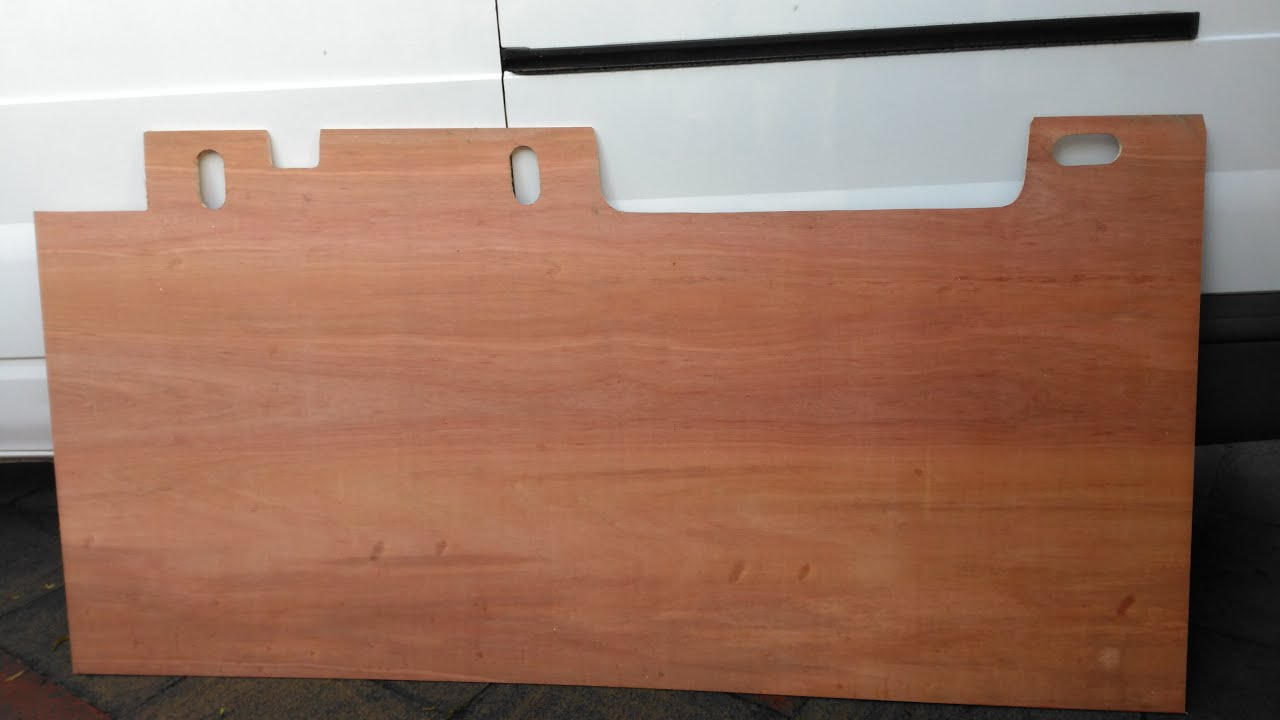 New Plywood Floor For Transit Van Youtube