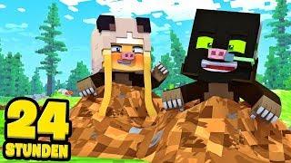 24 STUNDEN als MAULWURF LEBEN?! - Minecraft [Deutsch/HD]