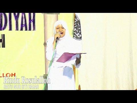 Puisi Rindu Rosulalloh (HD) ~ Ratu Nur Siti Hajar  ~ MRS DPC PSW Magetan