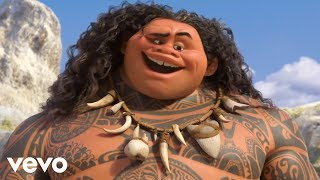dwayne johnson youre welcome from moana