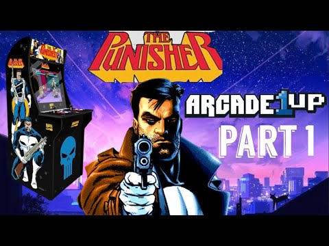 """Arcade1Up: Making A Punisher """"Dedicated"""" Cabinet PART 1 from Dreamcast Kyle"""