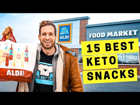 TOP 15 Keto Snacks at Aldi RIGHT NOW! The BEST Low Carb Keto Snack Ideas at Aldi in 2021