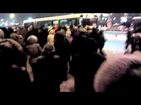 Бульвар Дмитрия Донского 858 автобус 04.02.13