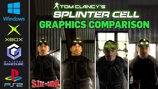 Splinter Cell | Graphics Comparison | ( PC , Xbox , Gamecube , PS2 )