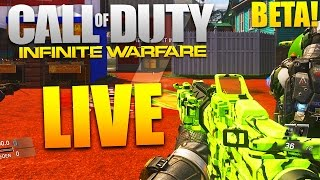 Call of Duty: INFINITE WARFARE Multiplayer BETA GAMEPLAY (Livestream) #2
