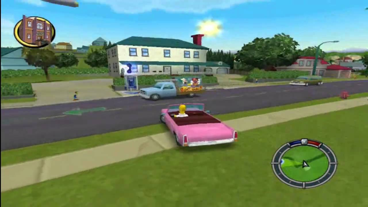 the simpsons hit & run pc game