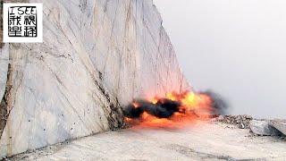 意大利最昂贵的大理石开采过程
