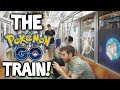 We ENTERED the Pokémon Let's GO TRAIN!!! [Pokémon GO Japan #2]