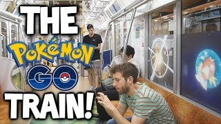 We ENTERED the Pokémon Let's GO TRAIN!!! [Pokémon GO Japan #2]