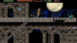 Castlevania 3 Dracula's Curse Remake Level 1