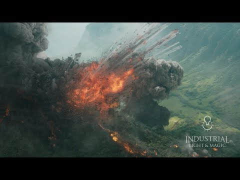 Behind the Magic: Jurassic World: Fallen Kingdom - Environments