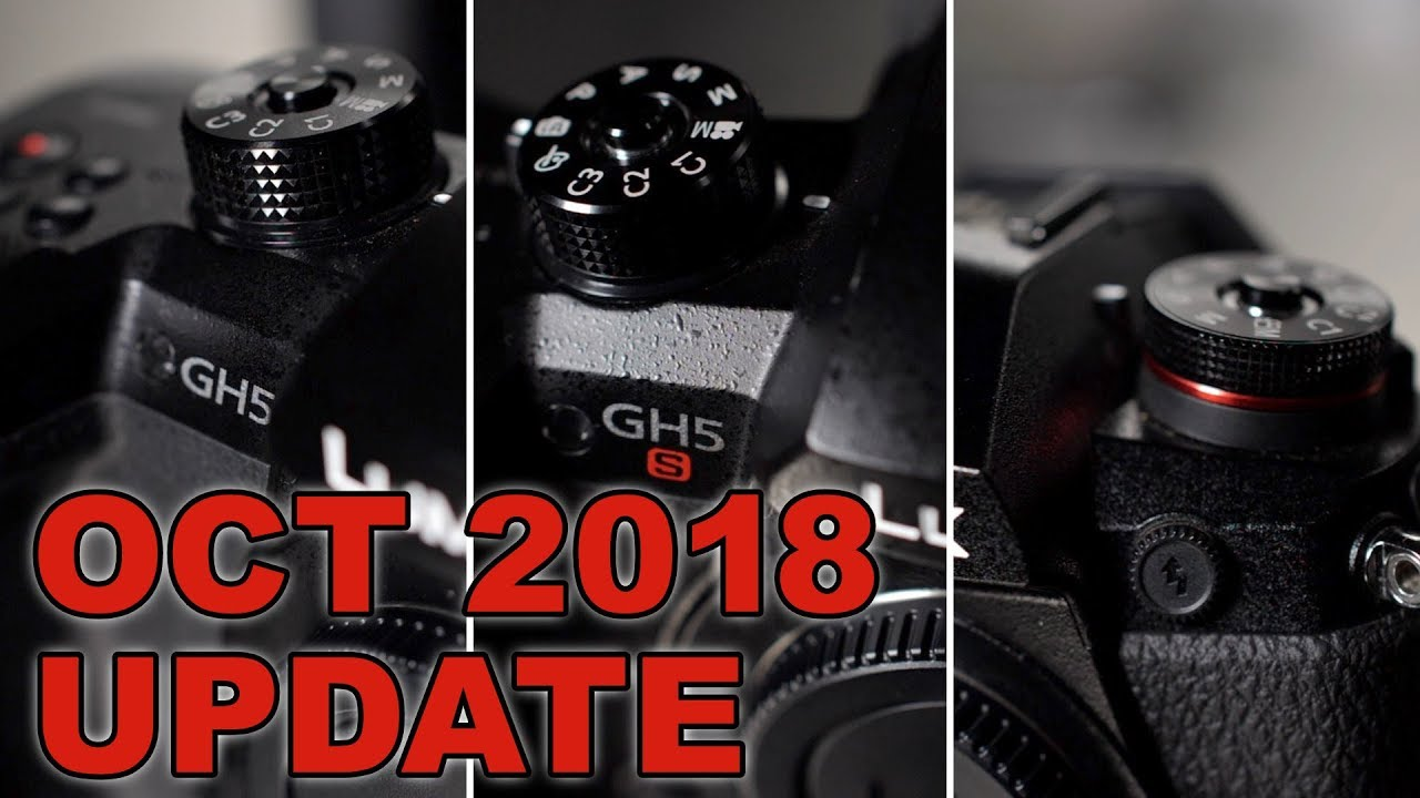 HOW TO UPDATE ▶︎ GH5, GH5S & G9 Firmware Update (October 2018 edition)