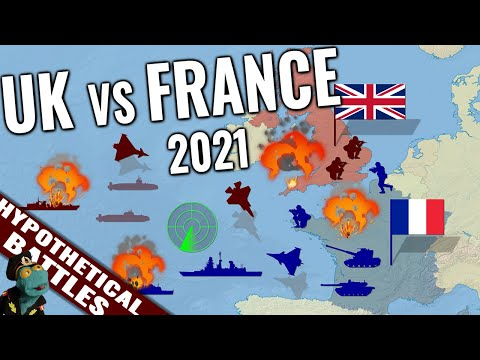 UK vs French military: Who'd win that war? (2021)