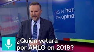 ¿Quién votará por AMLO en 2018? ¿Puede haber cambio con los mismo partidos? - Es la Hora de Opinar