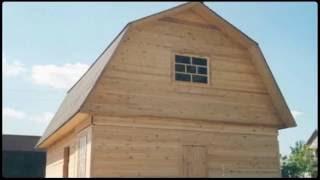 видео Дом из бревна 6х8 СД-7 Загородный