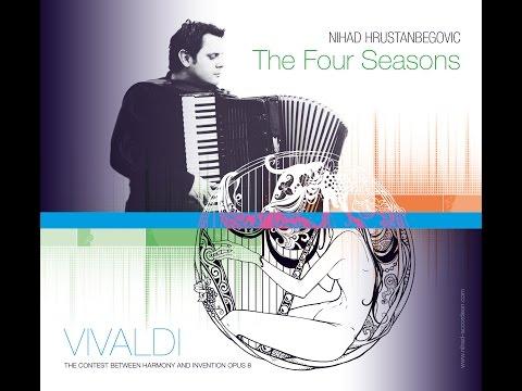 Vivaldi´s Winter from Four Seasons & Maestro Nihad Hrustanbegovic - Classical Accordion