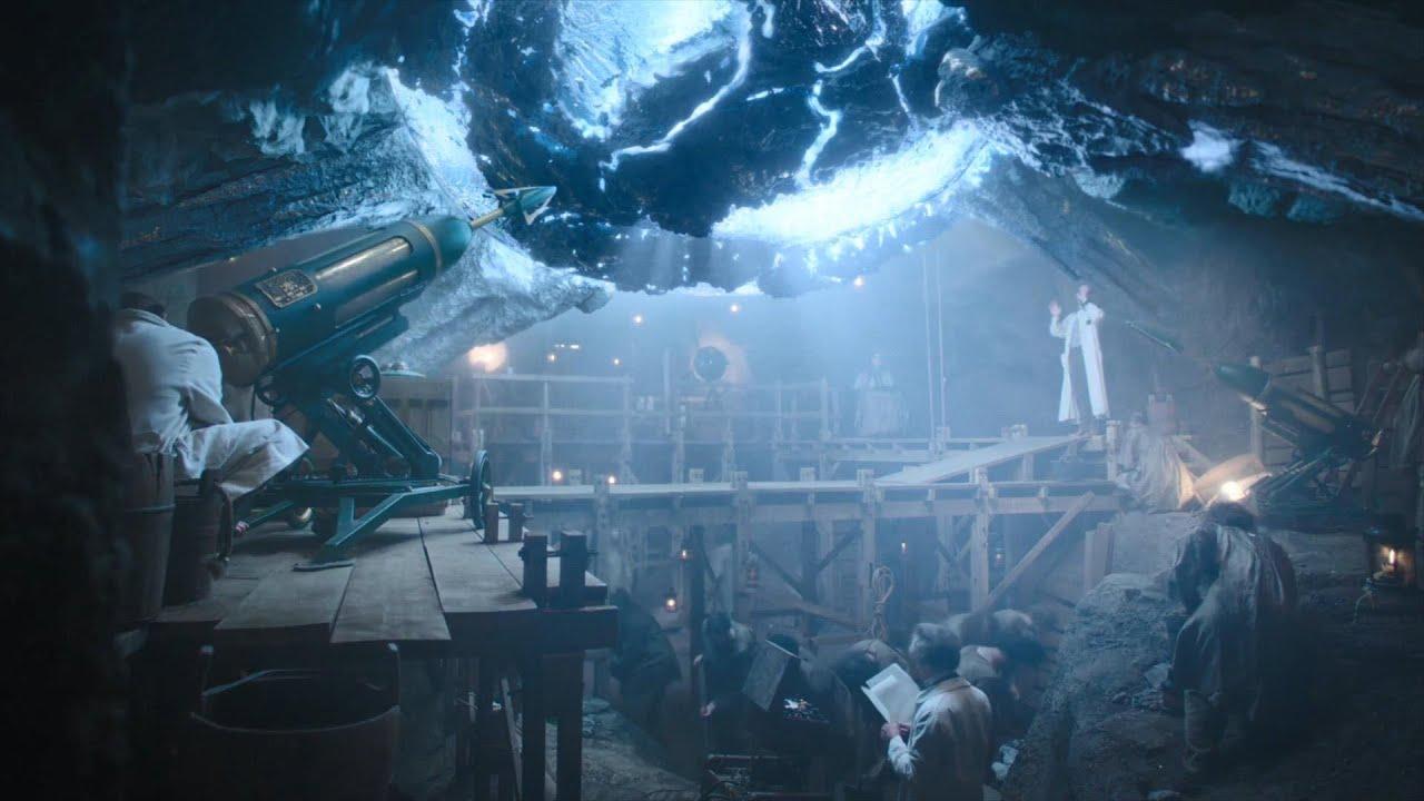 古人在地下挖到巨型怪蛋,不料里面是未来怪兽,长相可怕 丨科幻美剧《永不者》第五集