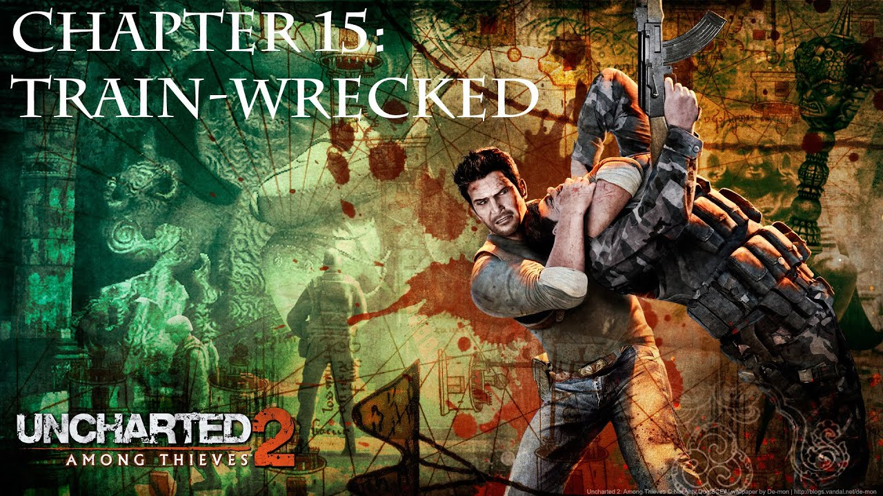 Uncharted 2 Brutal Difficulty Walkthrough Chapter 15 Train