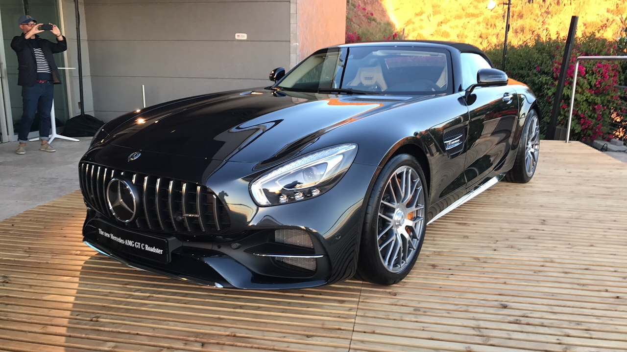 Live 2018 Mercedes AMG GT Roadster Everything You Want To