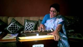 Aaj Jaane Ki Zid Na Karo - Farida Khanum - Harmonium Cover - Shobha Mathur