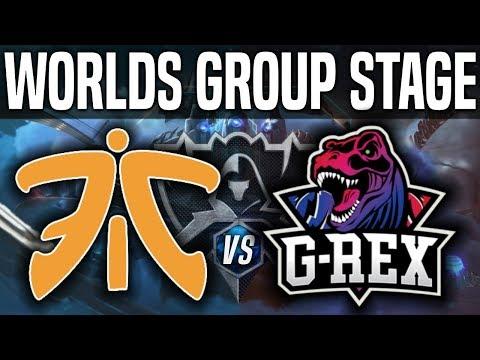 Fnatic  vs G-Rex vod