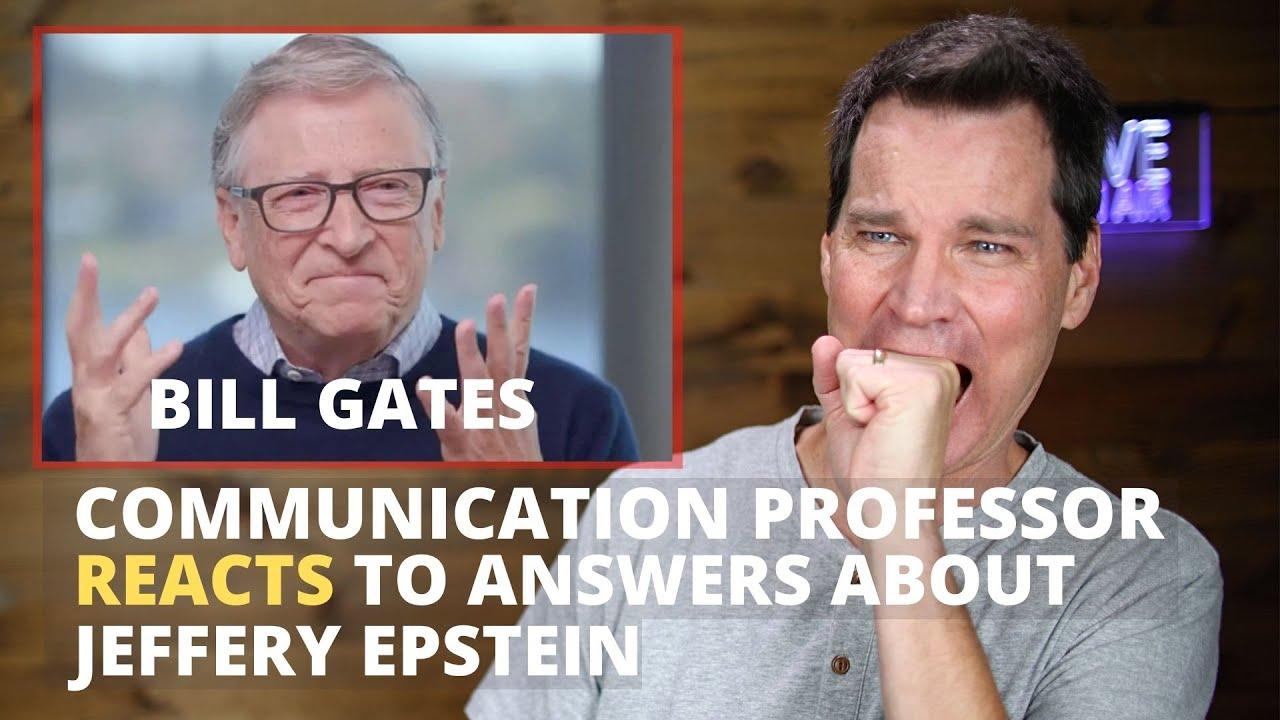 Bill Gates' Körpersprache entschlüsselt